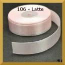 Tasiemka satynowa 25mm kolor 106 Latte