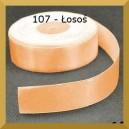 Tasiemka satynowa 25mm kolor 107 Łosoś