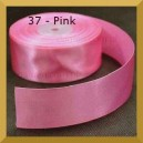 Tasiemka satynowa 25mm kolor 37 Pink