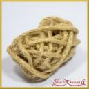 Sznurek lniany naturalny rolka 0,5cm/3mb