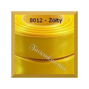Tasiemka satynowa 6mm kolor 8012 żółty