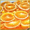 Suszone pomarańcze w plastrach 100g 5-6cm   490317