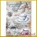 Papier ryżowy A4 R351-Czas na kawę