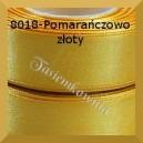 Tasiemka satynowa 6mm kolor 8018 pomarańczowo złoty