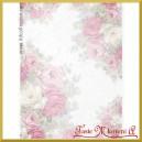 Papier ryżowy A4 R837 - pastelowe róże