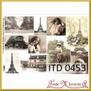 Papier do decoupage KLASYCZNY A4 D0453M - dawny Paryż