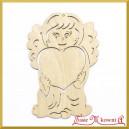 Aniołek z dużym sercem 15cm