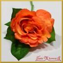 RÓŻA KRÓTKA ok 30 cm pomarańczowa