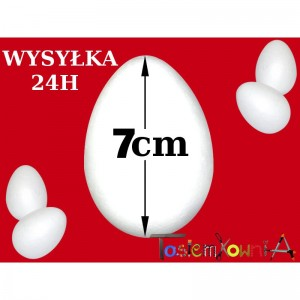 Jajko styropianowe 7cm IMPORT
