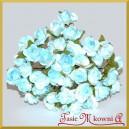 Różyczki papierowe 1,5cm 144szt. niebieskie