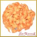Kwiatuszki materiałowe agapantus pomarańczowy gałązka 10 kwiatów