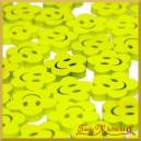 BUŹKI KWIATKI z drewna żółte 72szt.