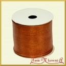 Tasiemka metalizowana ruda 6cm/8mb