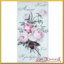 Chusteczka do Decoupage różyczki vintage 1szt.