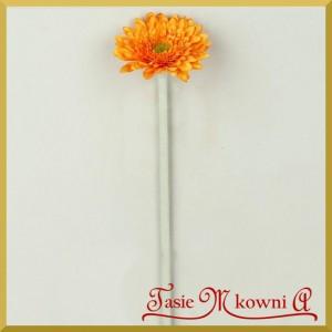Gerber mini - kwiat pomarańczowy