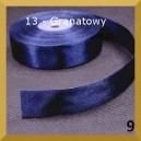 Tasiemka satynowa 25mm kolor 13 Granatowa