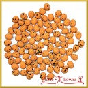 Jajka nakrapiane brązowe 2cm /  100 szt
