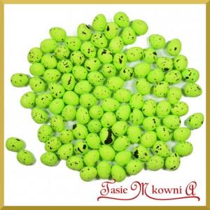 Jajka nakrapiane zielone 2cm /  100 szt