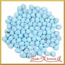 Jajka nakrapiane niebieskie 2cm /  100 szt