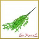 BORÓWKA - zielona gałązka ozdobna 35cm/7szt.