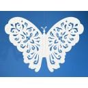 Zawieszka papierowa motyl 14 cm ZESTAW 10 sztuk