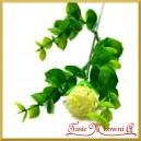 Kwiat borówki ecru (A595) 26cm