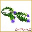 Mini kwiatuszek fioletowy na gałązce 32cm