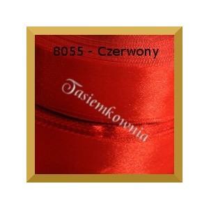 Tasiemka satynowa 6mm kolor 8055 czerwony