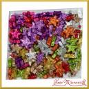 Gwiazdki brokatowe malutkie mix kolorów 1,5cm/144szt
