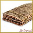 Plastry kory drewna naturalne płaskie zestaw 6szt