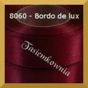 Tasiemka satynowa 6mm kolor 8060 bordo de lux
