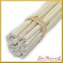 Wiązka jutowych patyczków bielonych 50-55cm/25szt.