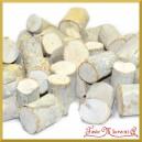 Koreczki drewna bielone 3cm/25szt.