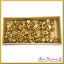 Róża cedrowa na piku złota 10cm/70szt. PUDEŁKO