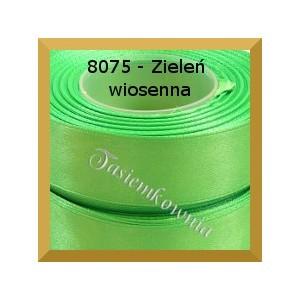Tasiemka satynowa 6mm kolor 8075 zieleń wiosenna
