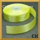 Tasiemka satynowa 25mm kolor C100 Jasno zielona