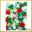 Cekiny świąteczny mix 20g
