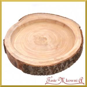 Talerz, misa, taca z drewna 37cm