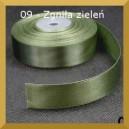 Tasiemka satynowa 25mm kolor 09 Zgniła zieleń