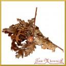 Gałązka naturalna Dębowa liście dębu i żołędzie 30g
