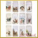 Papier ryżowy A4 R1496 prostokątny pejzaż z dziećmi