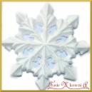 Śnieżynka DUŻA styropianowa 22cm