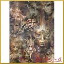 Papier ryżowy A4 R1521 maski teatralne
