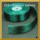 Tasiemka satynowa 25mm kolor 103 Ciemno zielona