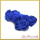 CHABROWE różyczki z pianki 2,5cm 12szt.
