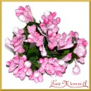 Bukiecik OZDOBNY JEŻYNKI róż 12 DRUCIKÓW