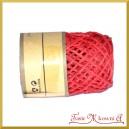 Sznurek papierowy czerwony rolka 10mb