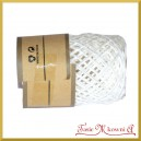 Sznurek papierowy biały rolka 10mb