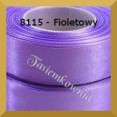 Tasiemka satynowa 6mm kolor 8115 fioletowy