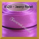 Tasiemka satynowa 6mm kolor 8120 jasny fiolet